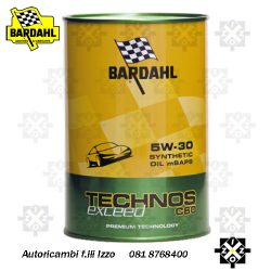 olio motore bardahl 5W30
