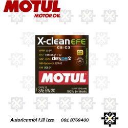 olio motul 5w30 8100 x-clean efe