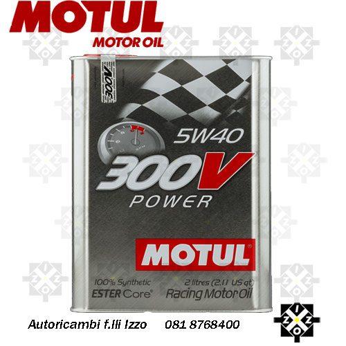 olio motul 300v power
